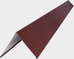 Конек кровельный  КП-417 (Окрашенный)